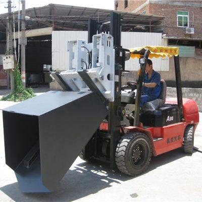 سطل ضمیمه لیفتراک هیوندای دیزل Forklift 3 تنی ، چنگال چنگال و سطل
