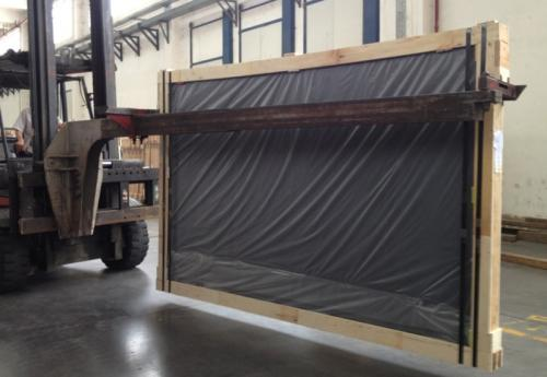 Forklift Jib Glass Handling